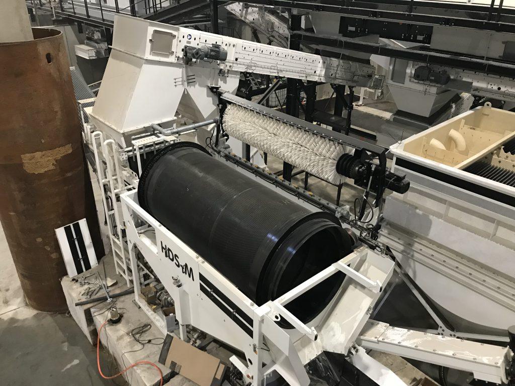 Ansicht HDS-M von oben als Komponente in Anlage