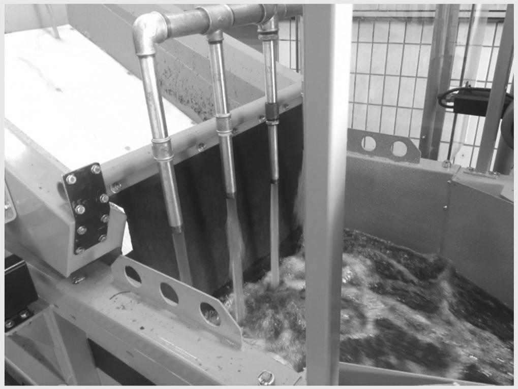 WIMA Dichteseparator HDS-M Detailansicht Wasserbad